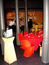 Interior del restaurante Comerç 24