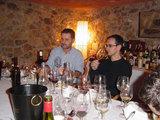 Andreu y Oskar en la cata en el Punt Gastronomic