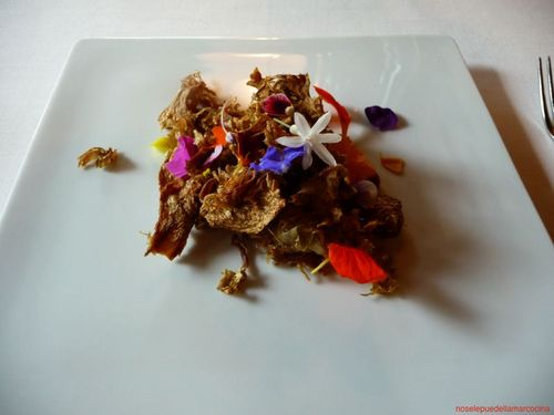 Mugaritz Flores, flores, flores