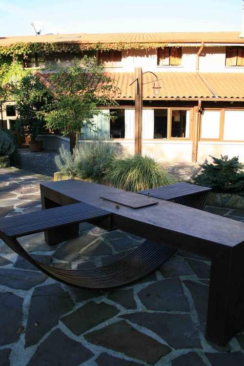 Mugaritz La mesa zen del jardín