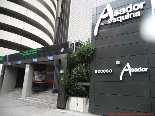 Restaurante asador de la esquina madrid for Puerta 8 bernabeu