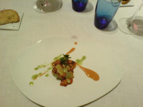 Restaurante Antojo Los erizos con pastel de Yuca y Batata