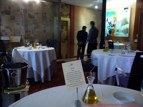 Restaurante Balzac (CERRADO) La sala