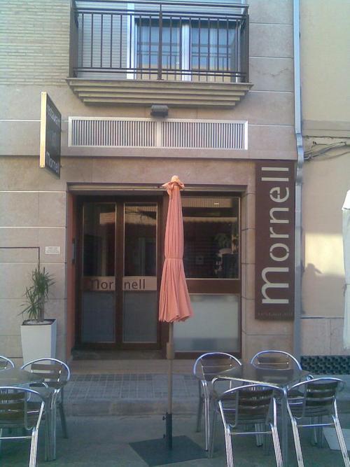 Restaurante Mornell Fachada principal
