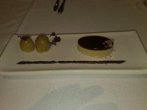 Restaurante en Valencia Turrón de foie y avellanas