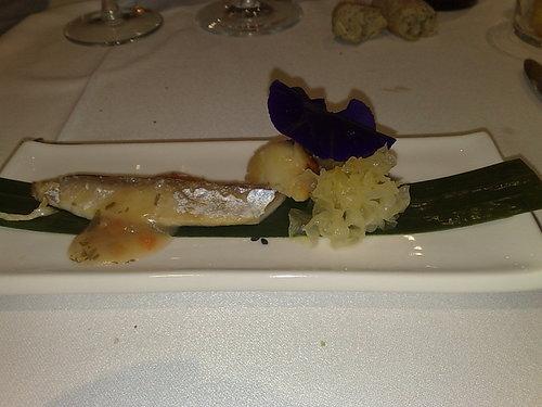 La Salita en Valencia Caballa, un pescado cenicienta... aquí como una reina!