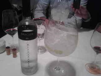 Gin tonic .