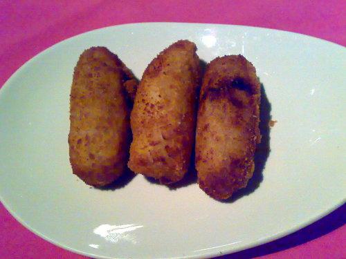 Restaurante en Valencia croquetas de perdiz escabechada