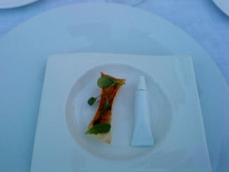 Snacks Tostada con mantequilla de aceite de oliva
