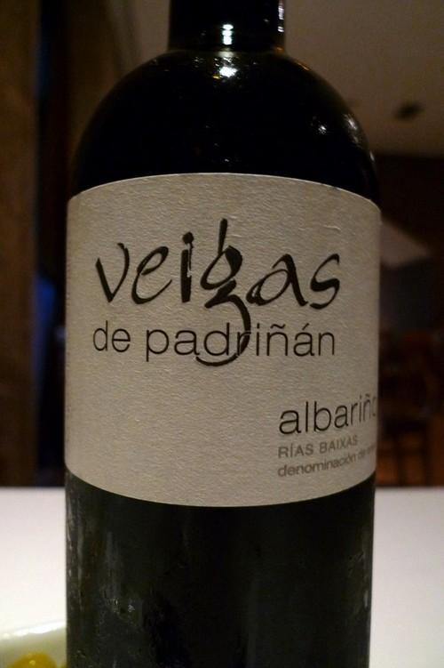 Restaurante en Vigo albariño