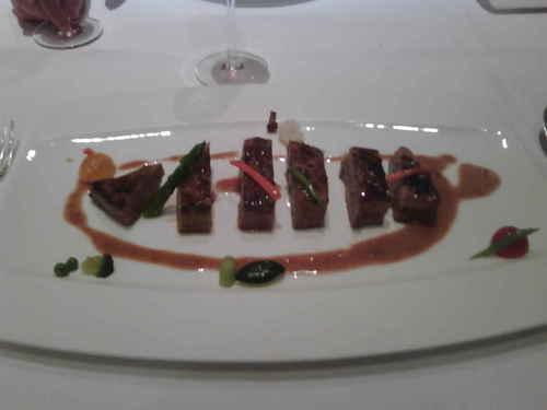 Restaurante en Valencia Lomo de atún rojo marinado .