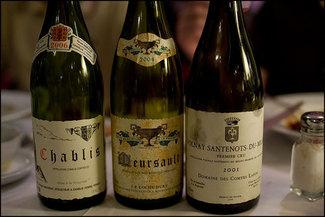vinos de borgoña Restaurante Villa Mas