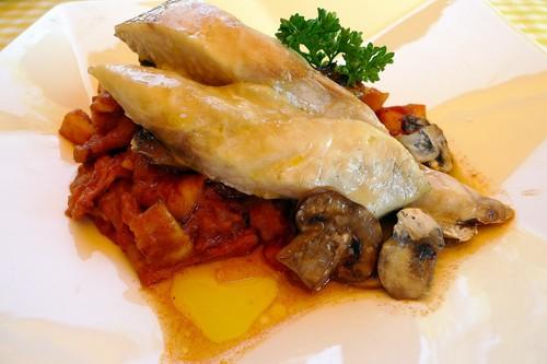 La Matandeta en Alfafar gazpacho de pescado de roca