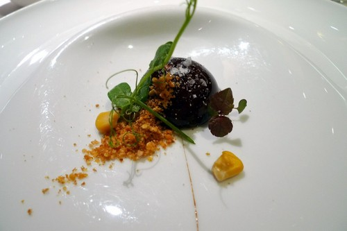 Restaurante en Valencia Tartufo de foie