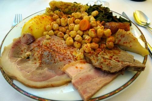 Taberna Gallega en Valencia cocido