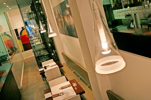 Restaurante en Valencia Luces regulables para crear ambiente