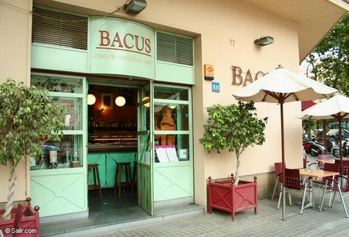 Bacus en Barcelona Fachada