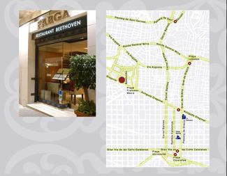 Restaurante Farga Beethoven en Barcelona