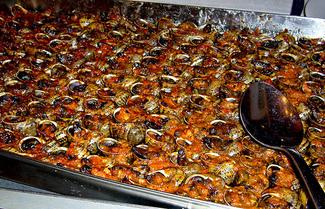 Los famosos caracoles de Can Barris