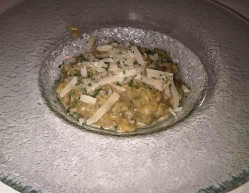 El Celler Arroz con ceps y parmesano