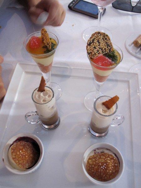 Restaurante La Salita Los postres