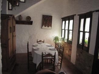 Restaurante Arrieros en Linares de la Sierra