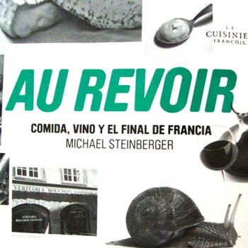 Libros sobre vino au revoir