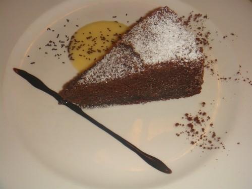 Restaurante en Anciles (Benasque) Tarta de chocolate