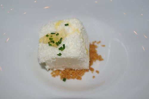 Restaurante ARC - Arrop Ricard Camarena (CERRADO) Brandada de Bacalao en Espuma