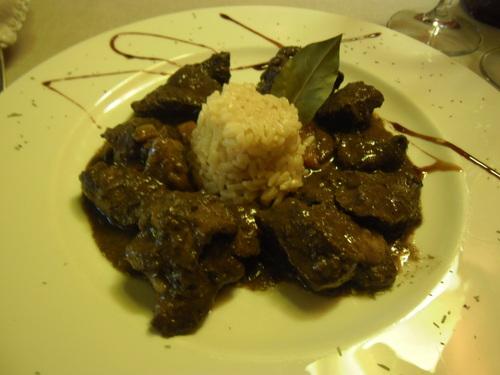Restaurante Ansils Civet de Jabalí