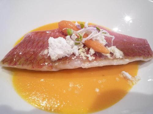Restaurante Aizian salmonete,otro descubrimiento