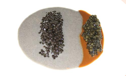 El Bulli (CERRADO) en Roses Caviar evidentemente falso