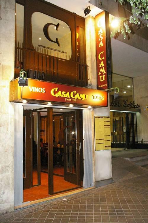 Casa Camu Rodriguez San Pedro en Madrid Entrada