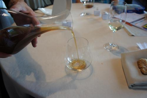 Restaurante en Errenteria copazo de armagnac de codornices