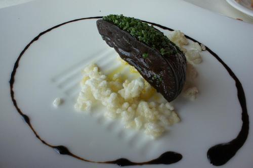 Restaurante en Amorebieta-Etxano original forma de comerme un foie
