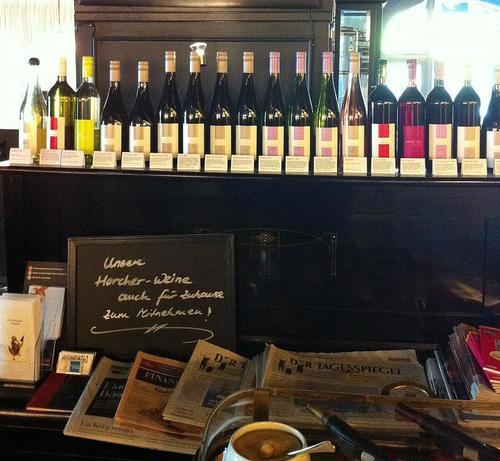 Restaurante Aigner Vino y prensa, feliz combinación
