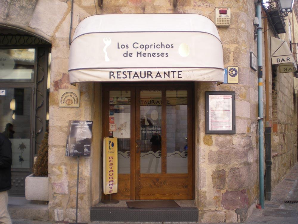 Restaurante en Zamora