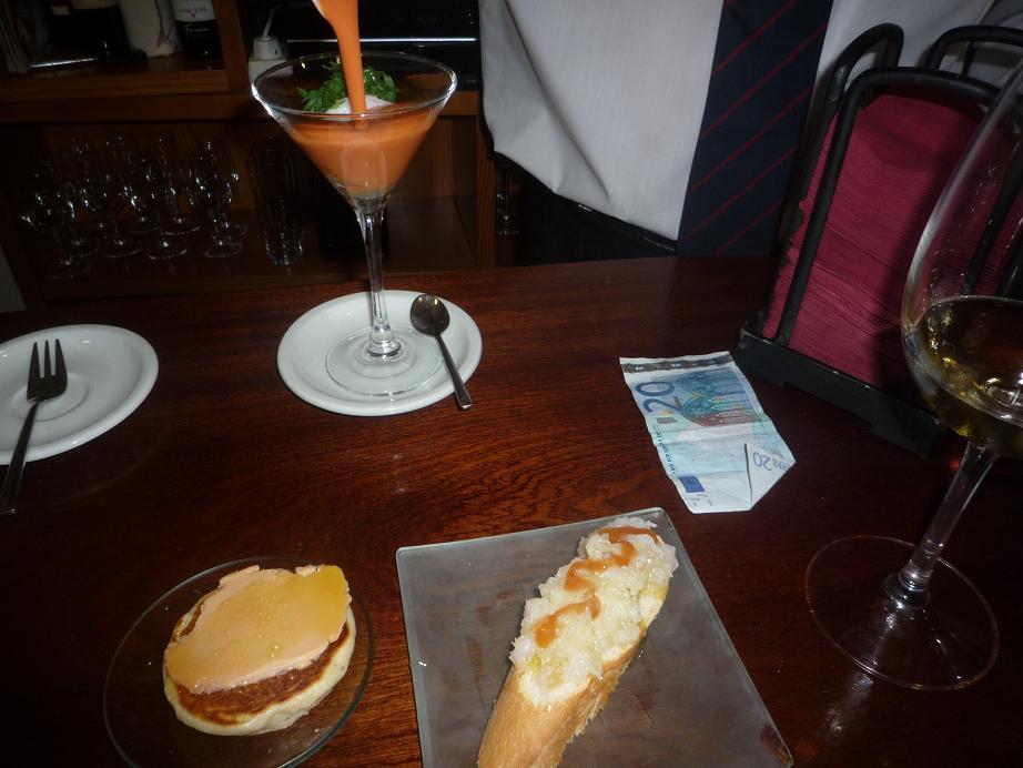 Restaurante Los Caprichos de Meneses Los pinchos, muy buenos