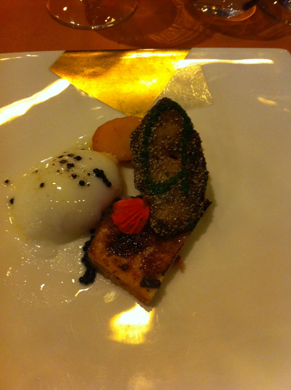 Restaurante El Cingle El foie. Muy normalito,la verdad.