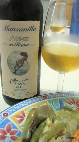 """Manzanilla """"En Rama"""" Barbadillo Saca de Otoño 2011"""