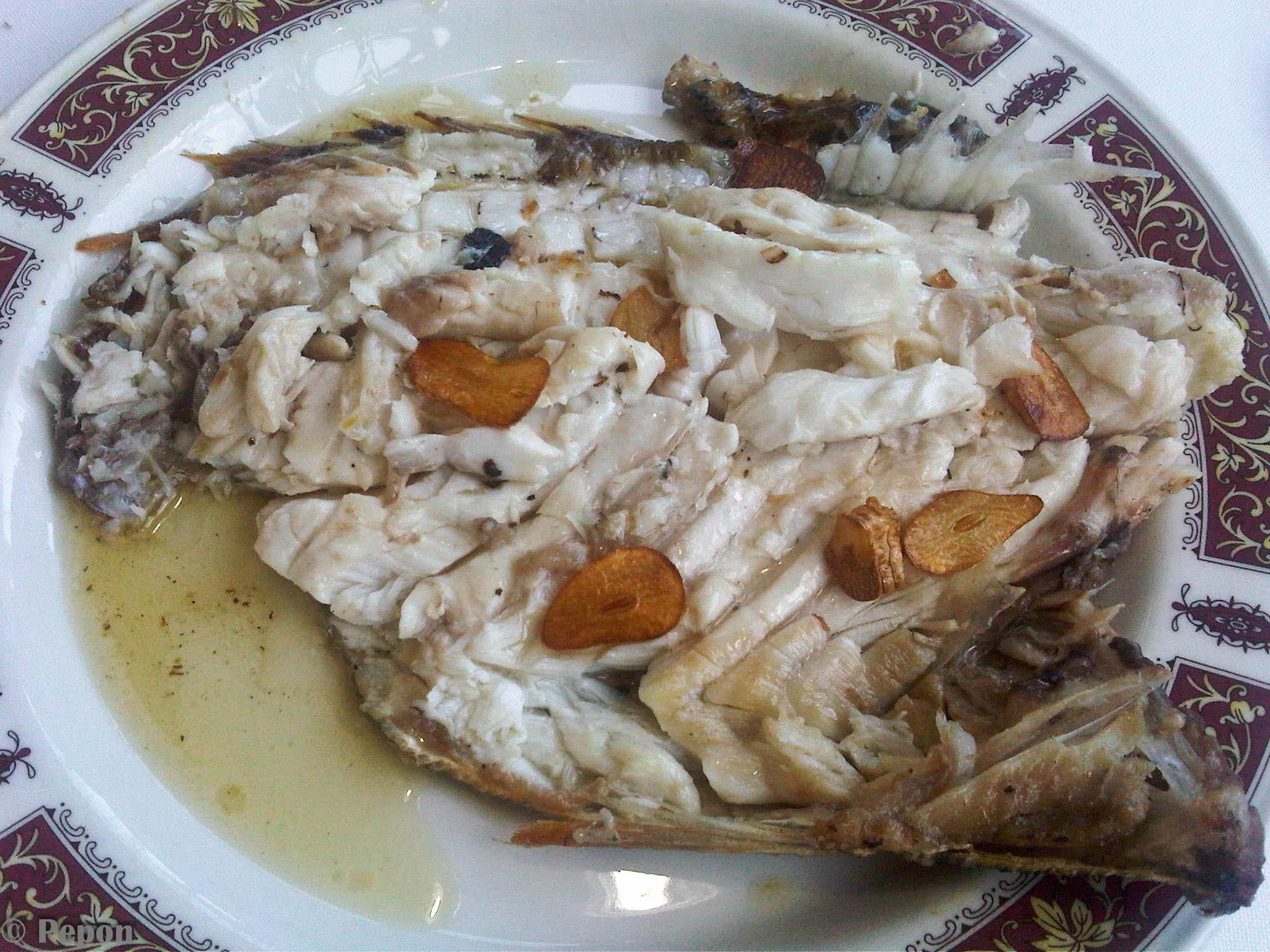 Restaurante en Getaria Besugo