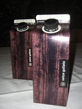 vino setze gallets