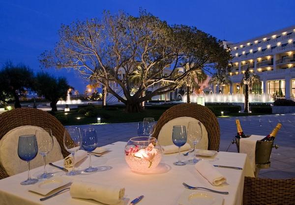 Restaurante Sorolla - Hotel Las Arenas Restaurante terraza al atardecer