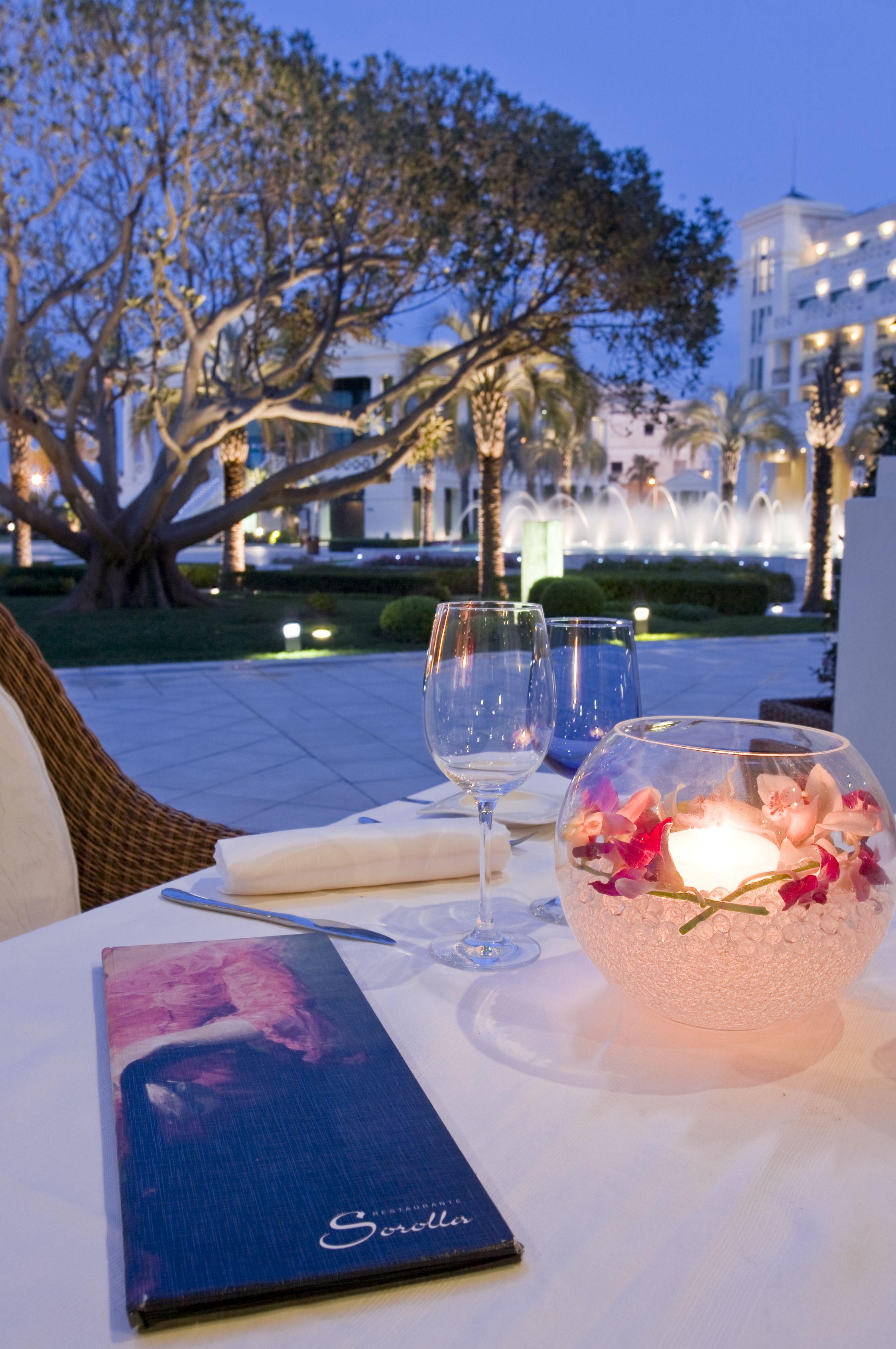 Sorolla - Hotel Las Arenas (4) restaurante terraza atardecer 2