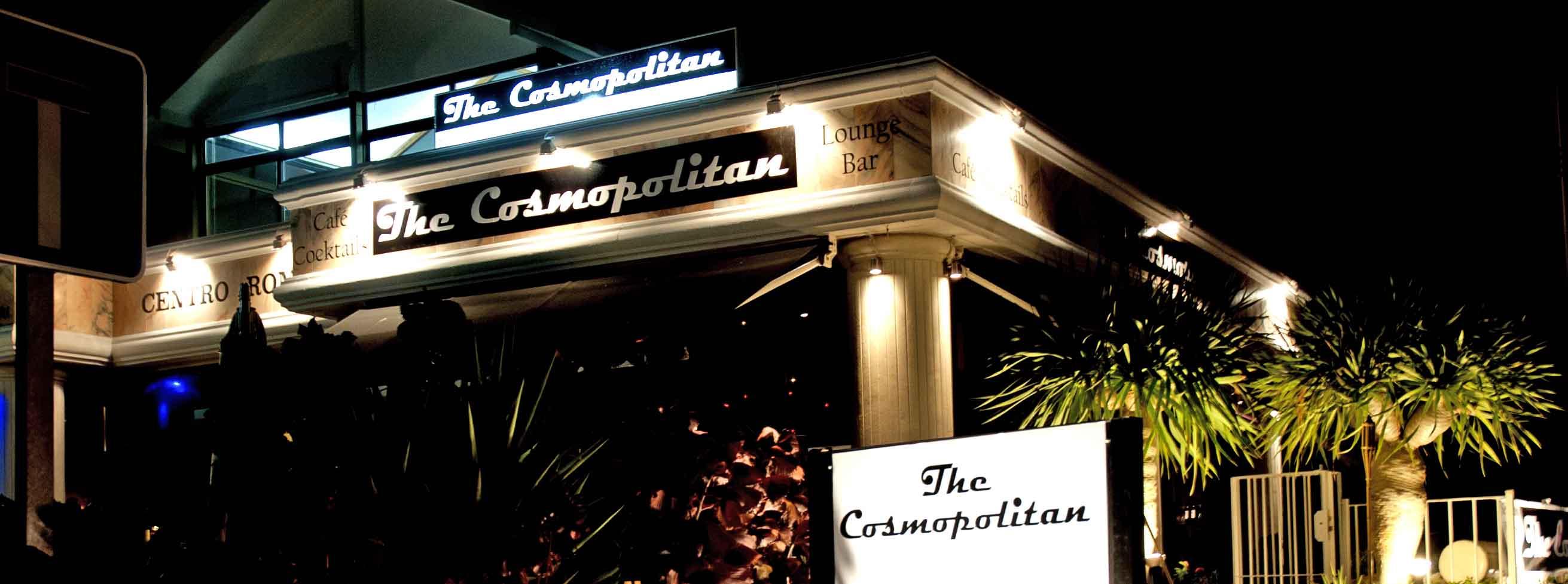 The Cosmopolitan of Marbella en Marbella Vista de la calle