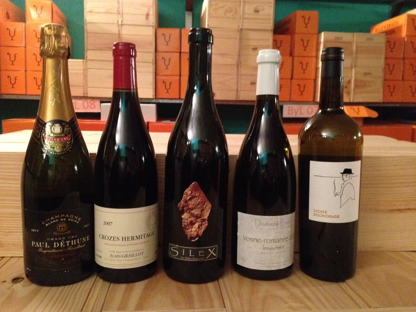 Martin Quiroga  Los vinos de la comida