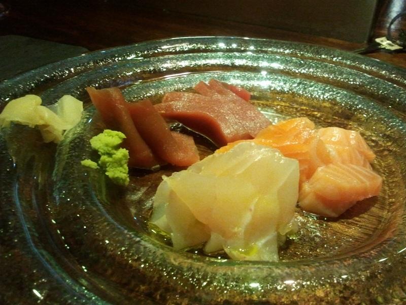 L'Est en Girona Sashimi variado