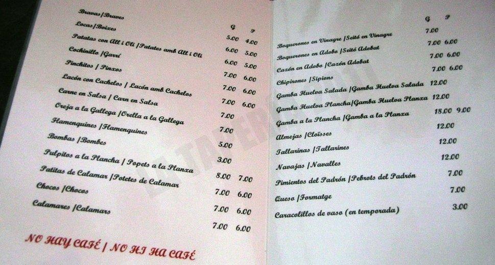 Restaurante en L´Hospitalet de Llobregat