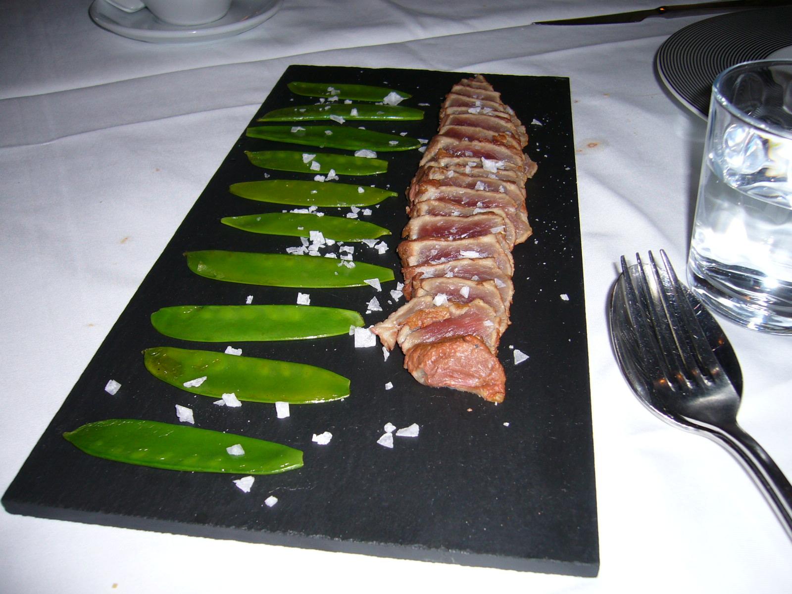 Restaurante en Madrid Tataki de ternera