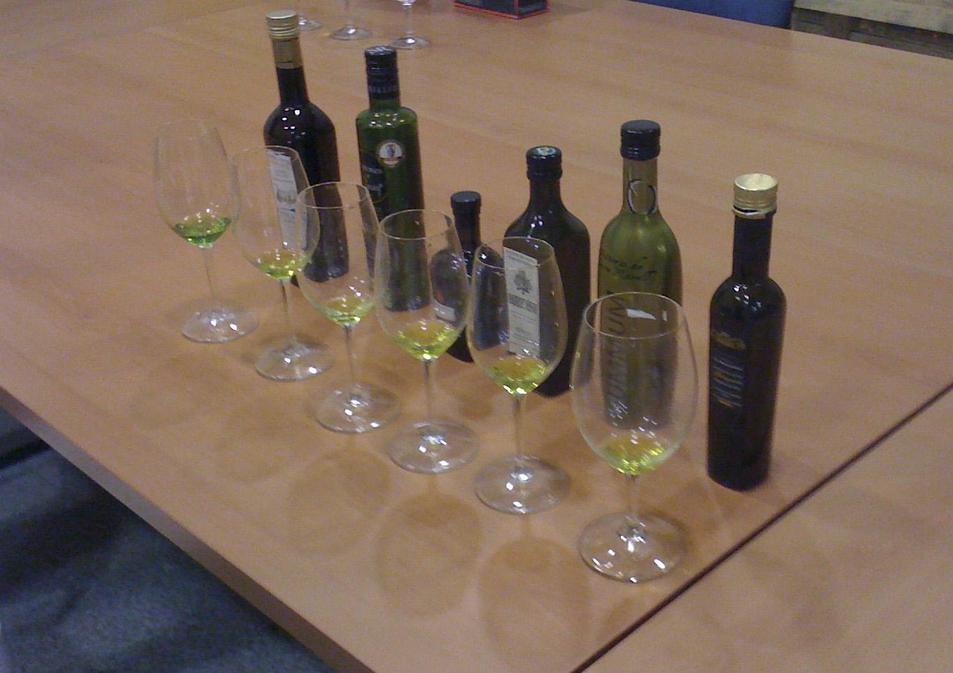 Aceites de oliva virgen extra